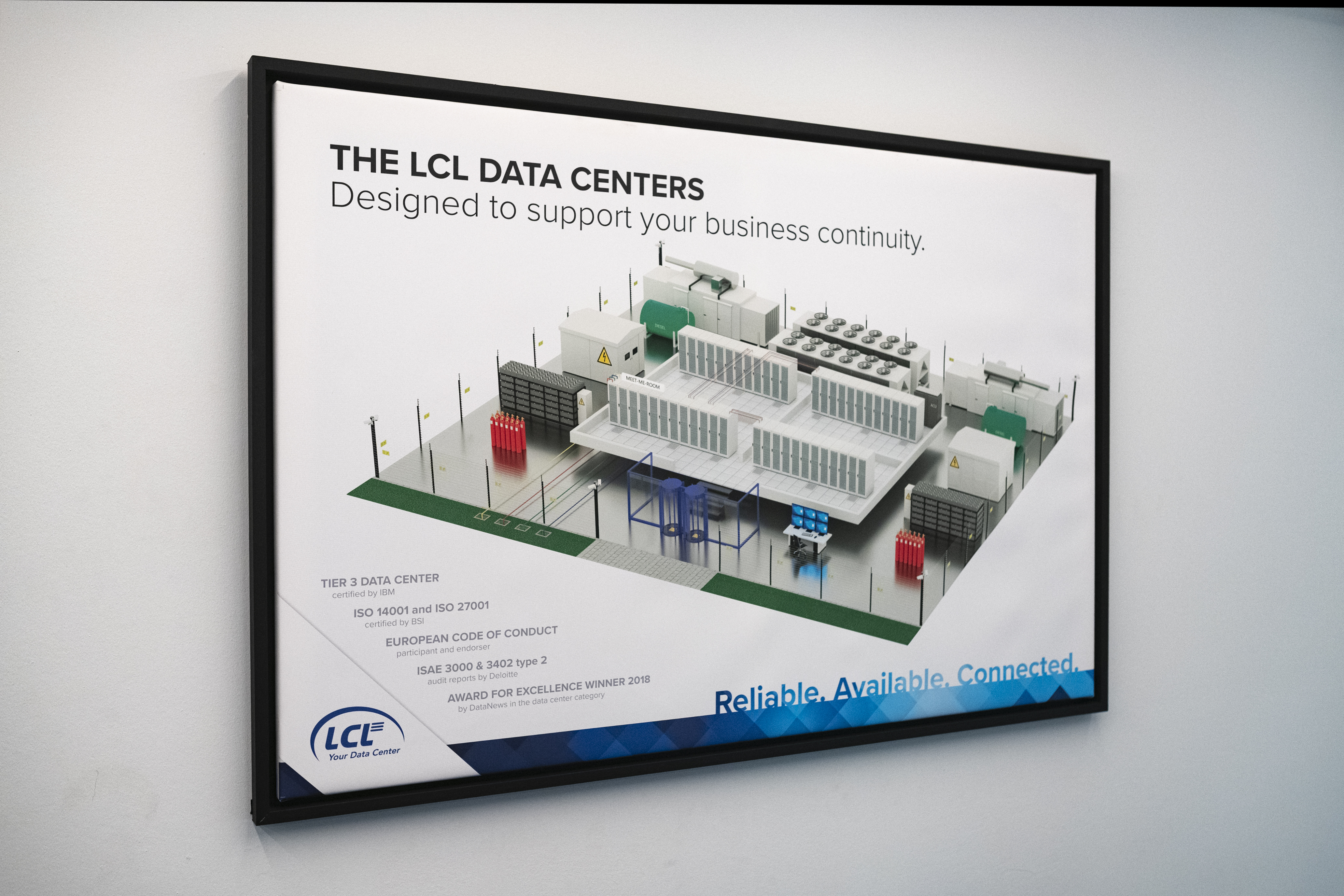 LCL certificates board